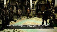 Skyrim Confessions - http://videogamedirectory.net/?s=skyrim