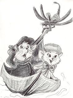 The Rescuers by Charlie Fenner [©2010]