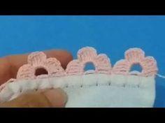 Barrado de crochê #141 - YouTube