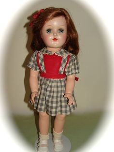 "LOVELY! VINTAGE IDEAL 16"" HARD PLASTIC  P-91 TONI DOLL  #DollswithClothingAccessories"