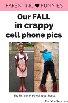 Mom blogger captions her #momlife through her crappy funny cell phone pics. #parentinghumor #funnykidpics