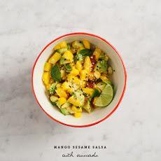Mango Sesame Salsa