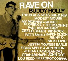 love me some buddy holly....plus everyone else on this compilation. Except Kid rock, what the hell is he doing on this