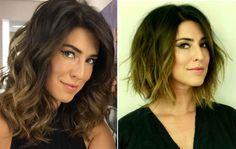 Corte de cabelo moderniza MUITO: compare antes e depois de Fê Paes Leme - Bolsa de Mulher