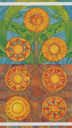 Seven of Pentacles - The Crystal Tarot