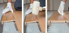 Parquet Clip Up System by Garbelotto