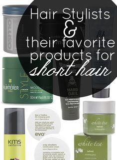 The Best Products for Short Hair