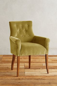 Velvet Abner Armchair #anthropologie