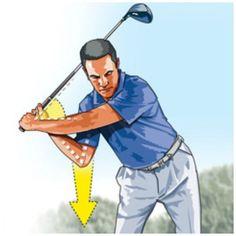 A simple way to get more lag in your golf swing - Golf - Davis Love - Tiger Woods - Don Donatello - Golf PGA Golf Downswing, Golf Pga, Sport Golf, Disc Golf, Golf Driver Tips, Golf Drivers, Ben Hogan Golf Swing, Golf Push Cart, Golf Instructors