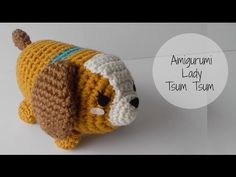 Crochet Lady Tsum Tsum Amigurumi Tutorial - YouTube