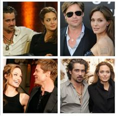 Angelina Jolie was secretly in love with Colin Farrell Colin Farrell, Latest Celebrity News, Celebs, Celebrities, Angelina Jolie, Gossip, Cloths, Mens Sunglasses, Hot