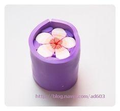 폴리머클레이로 벚꽃 머리끈 만들기 :: 네이버 블로그