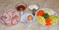 Gulas ingrediente Carne, Meat, Chicken, Food, Essen, Meals, Yemek, Eten, Cubs