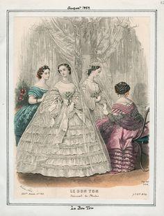 August, 1859 - Le Bon Ton