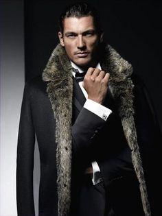 David Gandy- I love a well dressed man. Fashion Moda, Look Fashion, Mens Fashion, Fur Fashion, Fashion Trends, David Gandy, Sharp Dressed Man, Well Dressed Men, Black Dagger Brotherhood