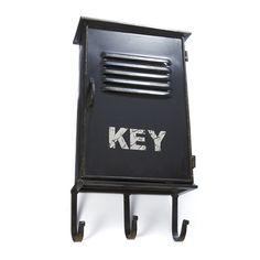 Boite à clefs avec 3 crochets Noir - Keybox - Les autres boites - Boîtes de rangement - Tout pour le rangement - Décoration d'intérieur - Alinéa