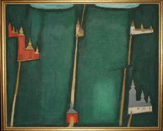 cerkiewki jerzy nowosielski malarstwo Unusual Art, Naive Art, Paintings, Landscape, 2d, Stationary, Folk, Polish, Image
