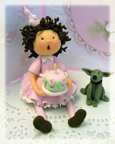 *POLYMER CLAY ~ Paper Blessings by gloria