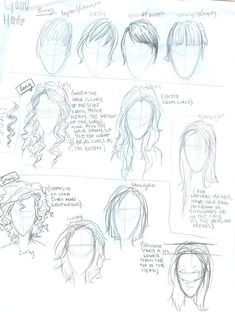 hokay, just did this not too long ago for some people asking about it. i've already done something similar to the top section but for girls, so i decided to throw the boys' facial structure in here...