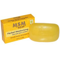 At Last Naturals, MSM Soap, Herbal Moisturizing Bar, 3 oz (85 g) - iHerb.com