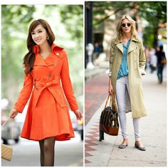 Key Item: Spring Jackets Love the jacket on the left