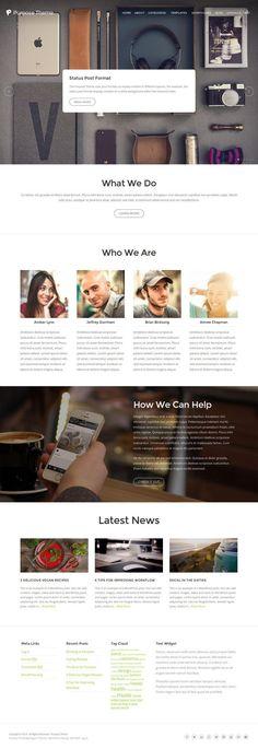 Purpose WordPress Theme - Organic Themes