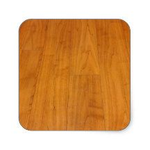 Wooden #Floor #Parquetry Parquet Laminate Brown Square #Sticker, you can add your text