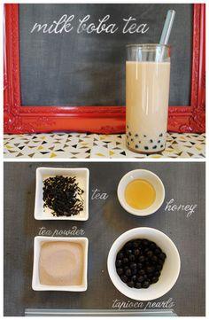 Make Your Own Bubble Tea // Oh Joy! Bubble tea is a delicious...
