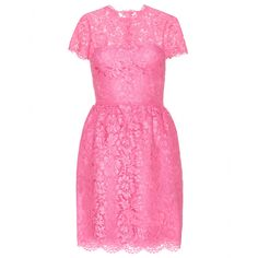 Valentino Cotton-blend lace dress