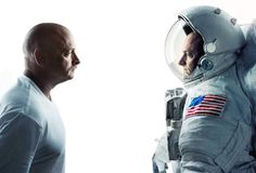 Happy Birthday to twins NASA Astronaut Scott Kelly (@StationCDRKelly) and former NASA Astronaut Mark Kelly one on Earth and one in space.  Scott is spending a year on the space station while Mark stays on Earth. Since their genetic makeup is as close to identical as we can get this allows a unique research perspective. We can now compare the results from Scott Kelly in space to his brother Mark on Earth. #twinning  #HappyBirthday #HBD #twins #twin #NASA #science #research #space #YearInSpace…