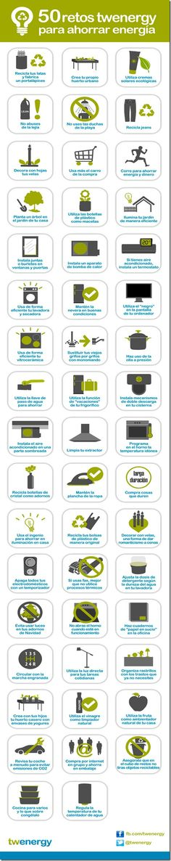 50 retos para ahorrar energía