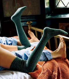 ...and knee-high socks :)