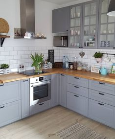 68 Best Elegant Contemporary Kitchen Decor Ideas New Home Decor 2019 Se . - 68 Best Elegant Contemporary Kitchen Decor Ideas New Home Decor 2019 Page 18 Home Decor Kitchen, Kitchen Interior, New Kitchen, Home Kitchens, Kitchen Ideas, Small Kitchens, Ikea Small Kitchen, Barn Kitchen, Kitchen Grey
