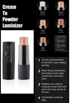 Younique New Cream to Powder Luminizer Younique Touch, Younique Party Games, Makeup Over 50, 3d Mascara, Natural Wedding Makeup, Glamorous Makeup, All Things Beauty, Eye Makeup, Lips