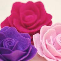 Felt flower tutorials