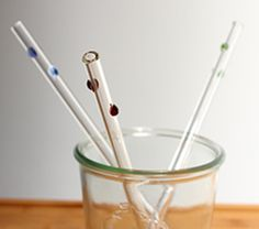 Win a set of 6 reusable glass straws (and a cleaning brush) + $100 for your school!