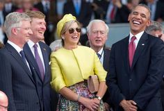 King Philippe of Belgium. The King and Queen of The Nethetlands and President Obama.