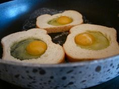 Eggs in a Nest - My children love this!