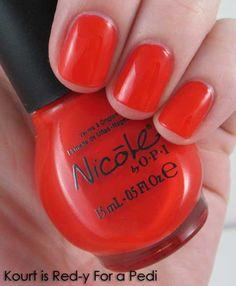 Kardashian Kolors - Kourt is Red-y For a Pedi
