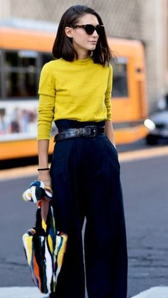 A fresh pop of colour. Yellow is such a on trend colour this spring. #ShopStyle #shopthelook #SpringStyle #MyShopStyle #WeekendLook #WearToWork