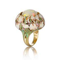 White irises and opal. By Ilgiz F.
