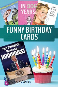 No one likes a boring sentimental card on their birthday - make it a truly humorous, hilarious, and funny birthday with our funny birthday cards! We cover a wide variety of topics for all types of funny.