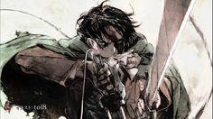 Anime 1920x1080 Shingeki no Kyojin medieval anime Levi Ackerman