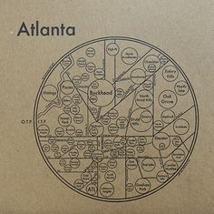 exploring interesting representations of space. Atlanta Map, Topography Map, Sketch Design, Data Visualization, Graphic Design Illustration, The Neighbourhood, Infographic, Pie Charts, Diagram