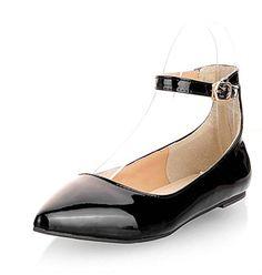 Aisun Women's Comfy Candy Color Patent Leather Ankle Stra... https://www.amazon.com/dp/B01DNY9L8Q/ref=cm_sw_r_pi_dp_x_-S2TybMTVT3EE