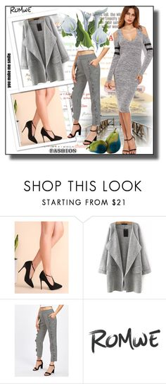 """// Romwe 5.//"" by fahirade ❤ liked on Polyvore"