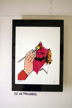 SO ME art show Ed Banger