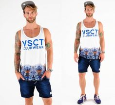 VSCT Logo Tiger-Blossoms Tank Top  #style