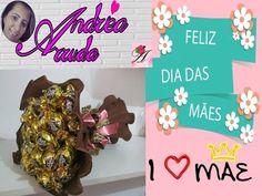 Buquê de bombons para o dia das mães/ dia dos namorados. Um presente que cabe no seu bolso - YouTube