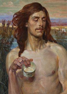 Category:Religious paintings by Jacek Malczewski Religious Paintings, Impressionist Paintings, Symbols, Fine Art, Canvas, Artist, Inspiration, Polish, Portraits